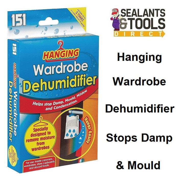 151 Hanging Wardrobe Dehumidifier Moisture Absorbing 1511134A