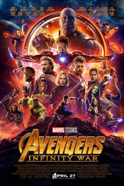 Avengers Infinity War (2018) Hindi Dubbed Movie HDRip 720p AAC