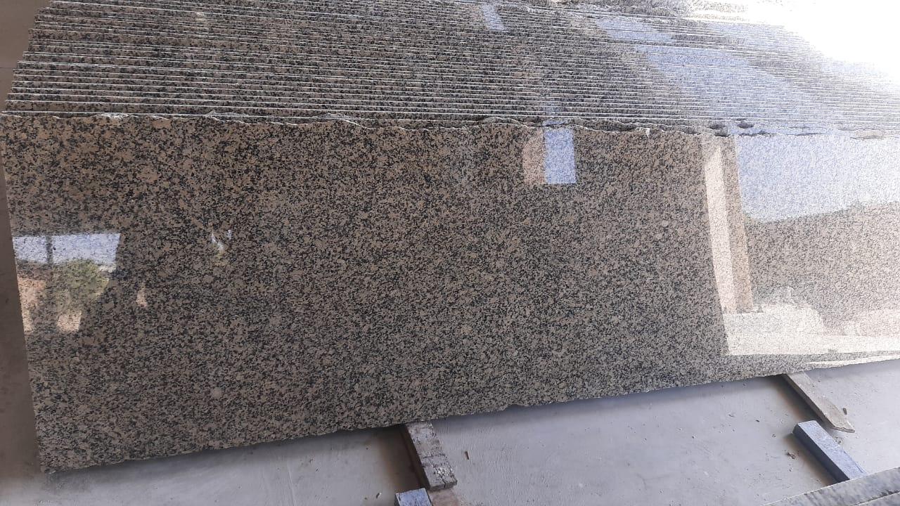 Crystal Yellow Granite Slabs