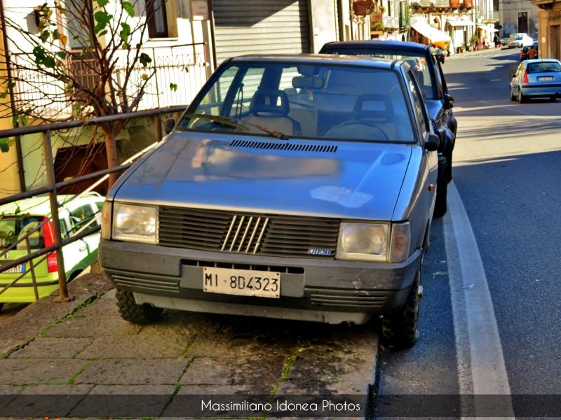 avvistamenti auto storiche - Pagina 2 Fiat-Uno-45-900-45cv-87-MI8-D4323-260-237-3-5-2019-1