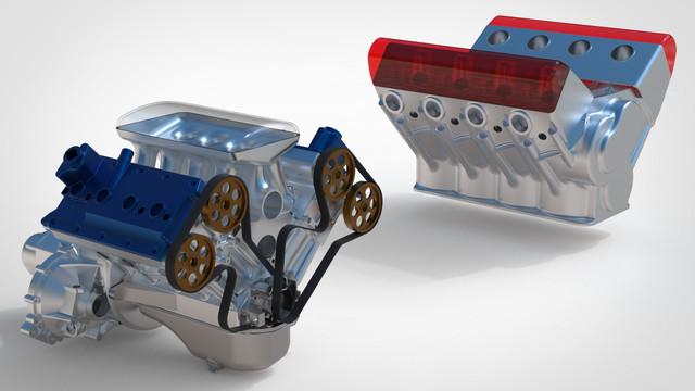ВАЗ-V8. Восьмицилиндровый из двух вазовских. Vaz-zil-2