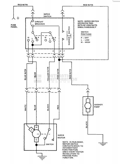 jeep j10 wiring diagram symbols 77 j10 with 79 harness  wiper motor conversion help  77 j10 with 79 harness  wiper motor