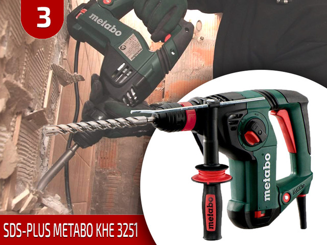 SDS-Plus Metabo KHE 3251