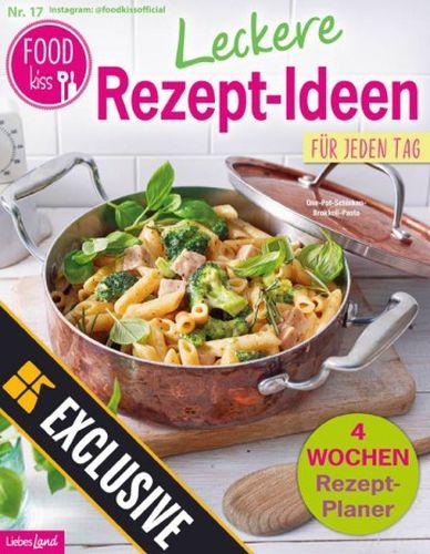 Cover: Liebes Land Foodkiss Magazin Leckere Kürbis Rezepte No 17 2021