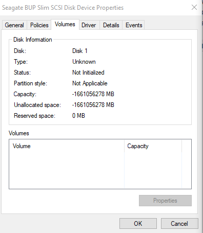 No volume 01