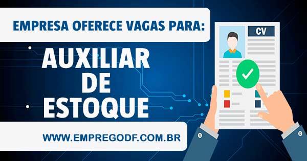 EMPREGO PARA AUXILIAR DE ESTOQUE (ASG)