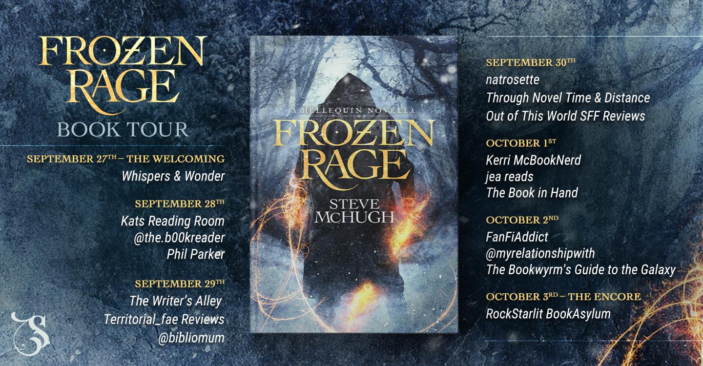 frozen rage steve mchugh tour banner