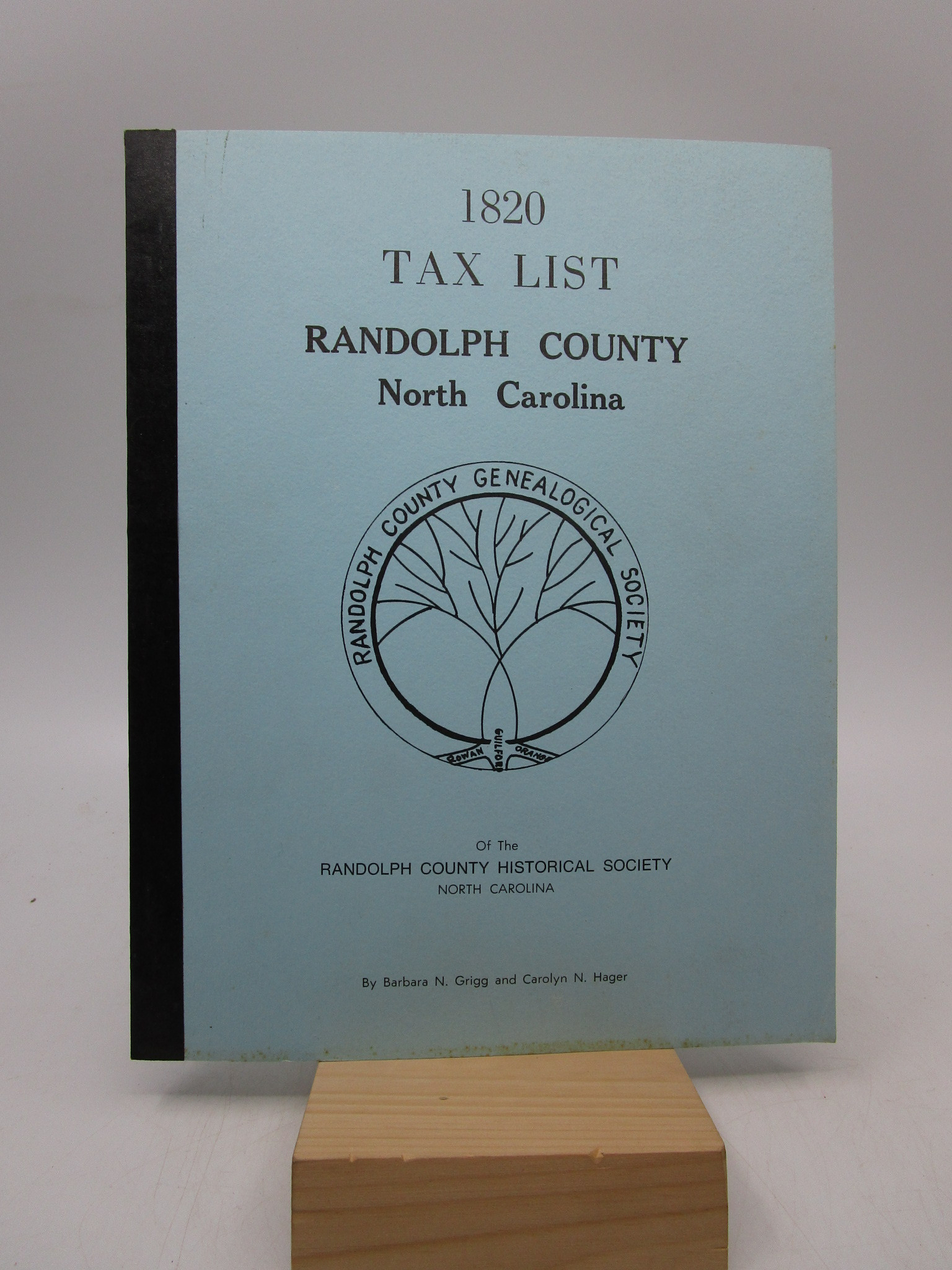 Image for 1820 Tax List Randolph County North Carolina