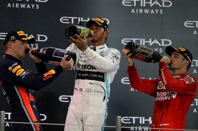 F1 GP d'Abu Dhabi 2019 : Lewis Hamilton termine la saison par une victoire 1025164