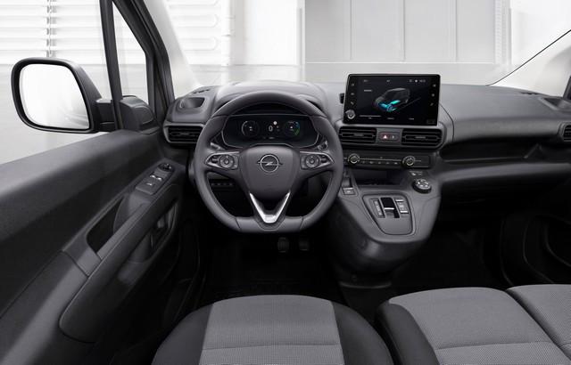 Electrique et pratique : le nouveau fourgon compact Opel Combo-e Cargo Cargo 09-Opel-Combo-e-Cargo-514057
