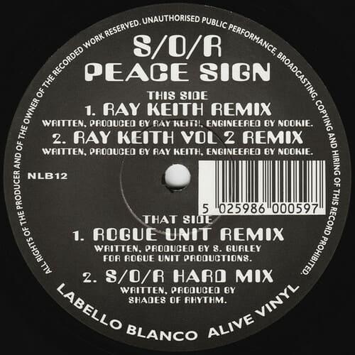 Shades Of Rhythm - Peace Sign