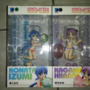 [VDS] Figurines PVC (Animés, jeux...) A-M Lucky-Star-Hiiragi-Kagami-Beach-Queens-110-Swimsuit-Ver-Wave-1