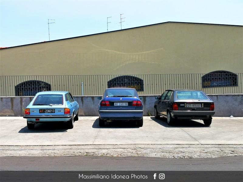 avvistamenti auto storiche - Pagina 33 Lancia-Delta-HPE-1-6-103cv-98-AX240-HH-248-350-29-4-2019-e-Delta-1-5-80cv-92-CTA75161-196591-6-6-17-199563-26-7-1