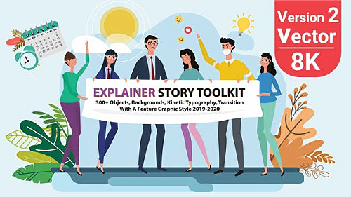Story Maker Explainer Toolkit V2 25220783 - Project for After Effects (Videohive)