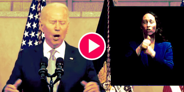Biden in Philly delivering remarks on protecting the laws that enabled his election fraud…
