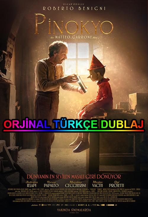Pinokyo | Pinocchio | 2020 | BDRip | XviD | Türkçe Dublaj | 720p - 1080p - m720p - m1080p | BluRay | Dual | TR-EN | Tek Link