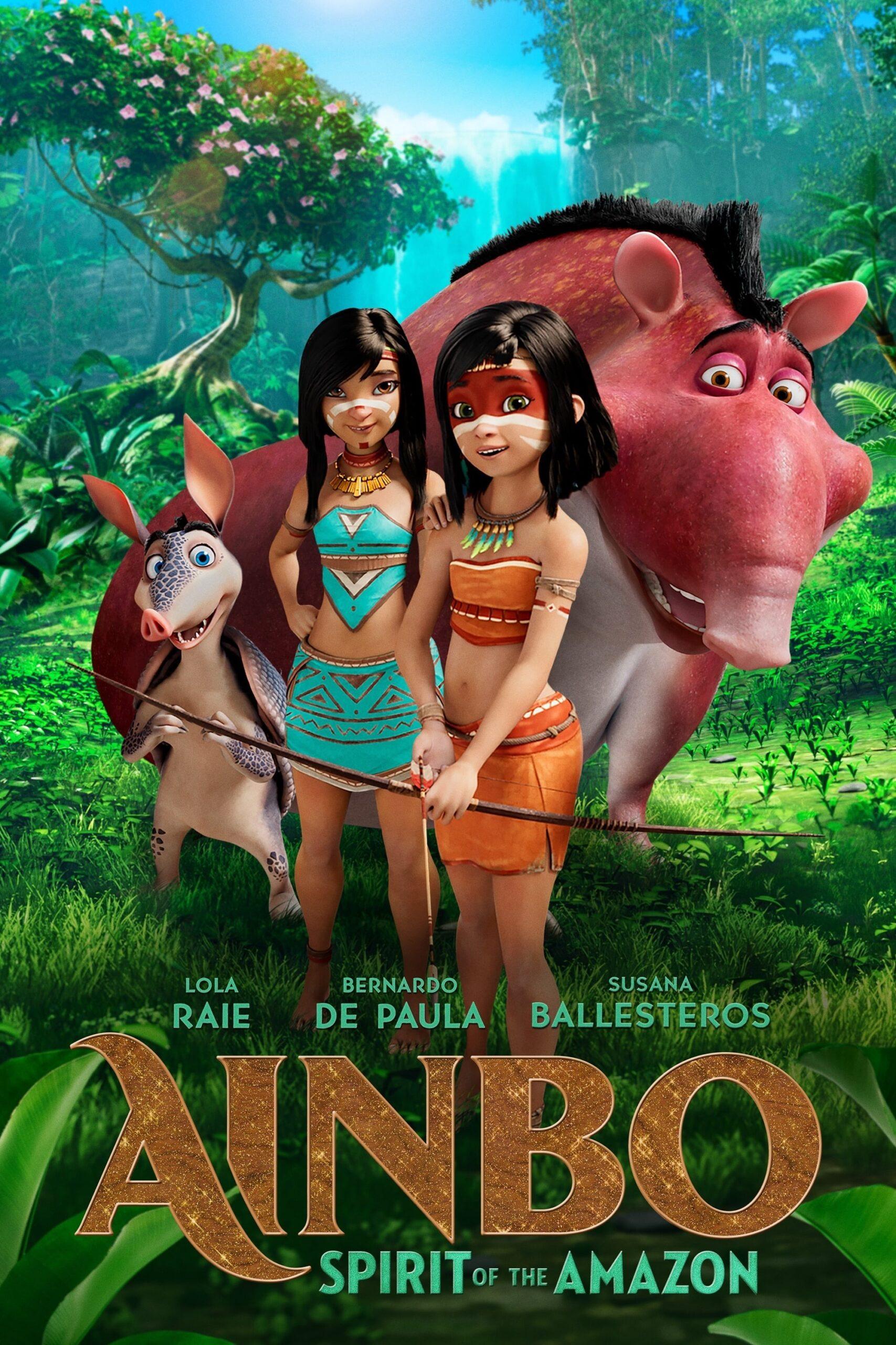 Ainbo: Espírito da Amazônia 2021 - Dublado WEB-DL 1080p Download