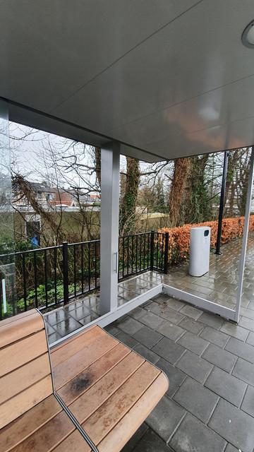 Wachthokje station Arnemuiden spoor 1