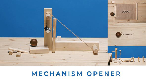 Mechanism Opener 3 in 1 33871806 - Project for After Effects (Videohive)