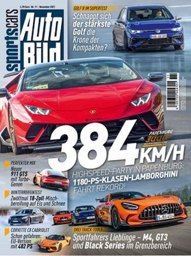 Cover: Auto Bild Sportscars November No 11 2021