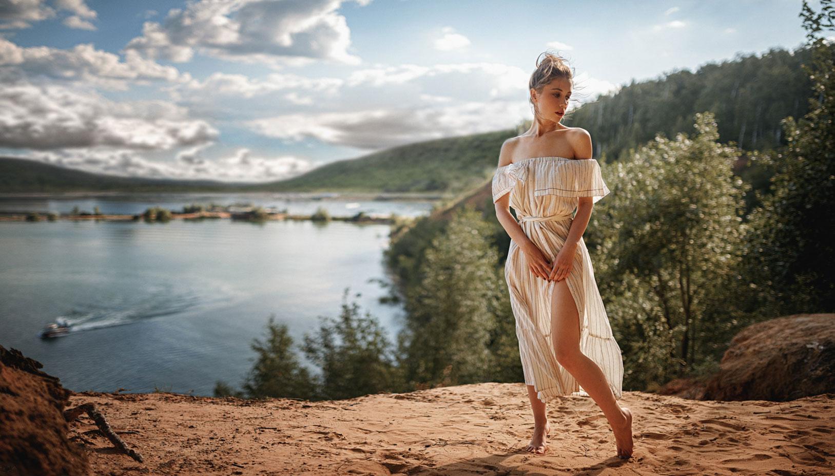 Ксения Кокорева на природе / фото 03