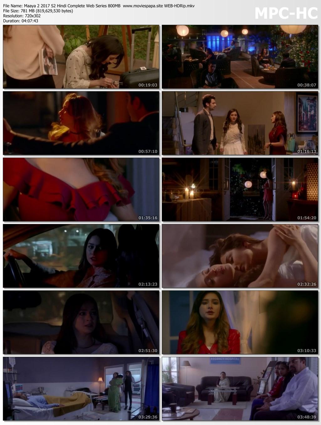 Maaya 2 2017 S2 Hindi Full Complete Web Series 850MB WEB
