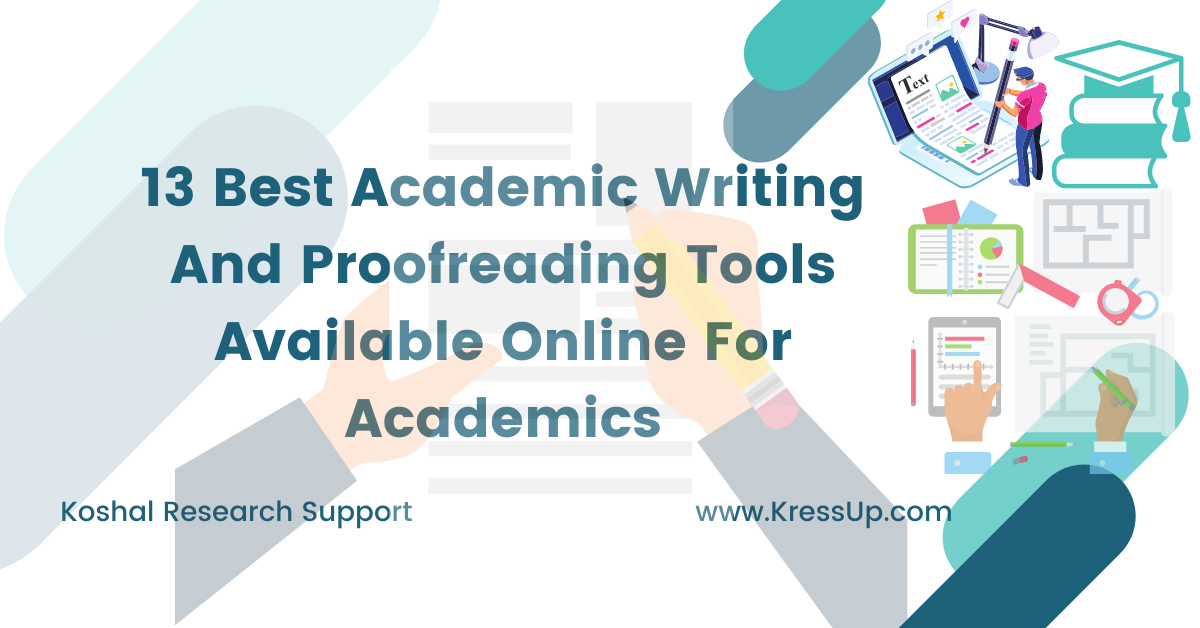 Academic Writing And Proofreading Tools Available Online