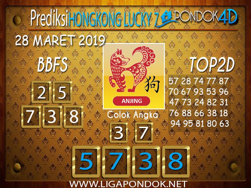 Prediksi Togel HONGKONG LUCKY 7 PONDOK4D 28 MARET 2019