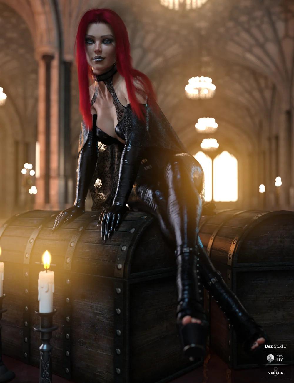 dForce Daedrah Outfit for Genesis 8 Females