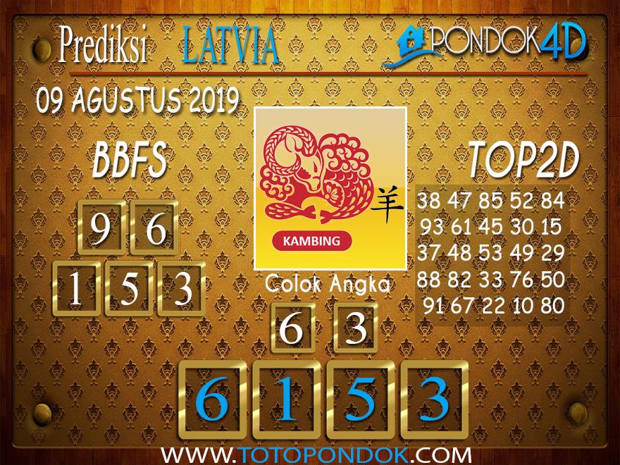 Prediksi Togel LATVIA POOLS PONDOK4D 09 AGUSTUS 2019