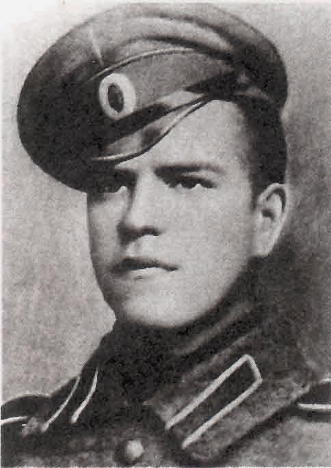 Georgy Zhukov, 1916