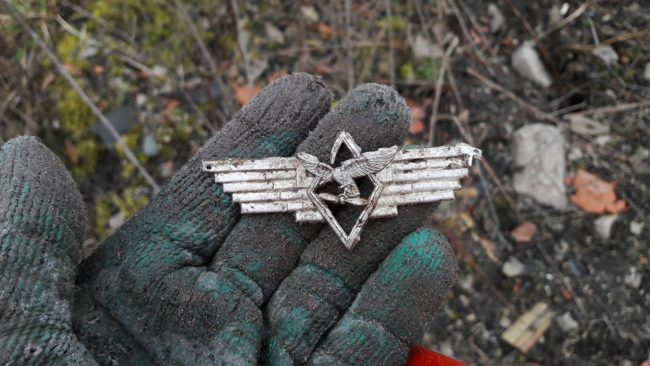 Rare Luftwaffe cockade . Photo by Apolon.