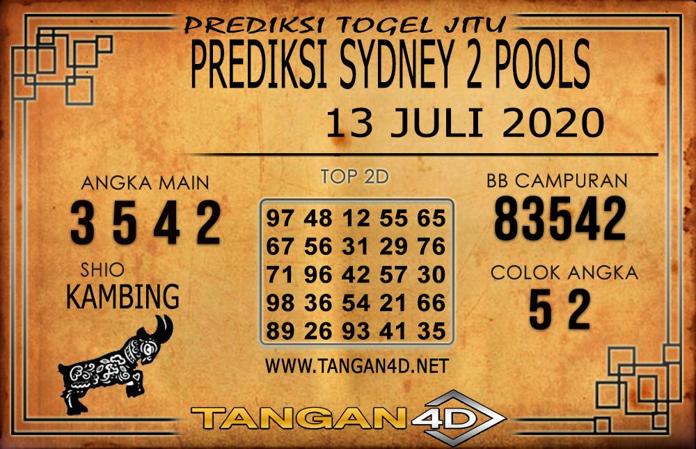 PREDIKSI TOGEL SYDNEY 2 TANGAN4D 13 JULI 2020