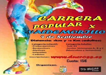 La Carrera Popular de Valdemorillo se celebrá el sábado 4 de Septiembre