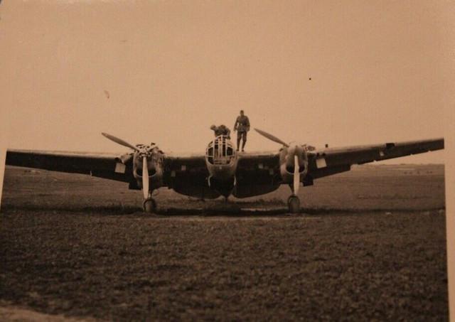 Foto-Photo-23203-WW2-Luftwaffe-Flugzeug-airplane-schwerer