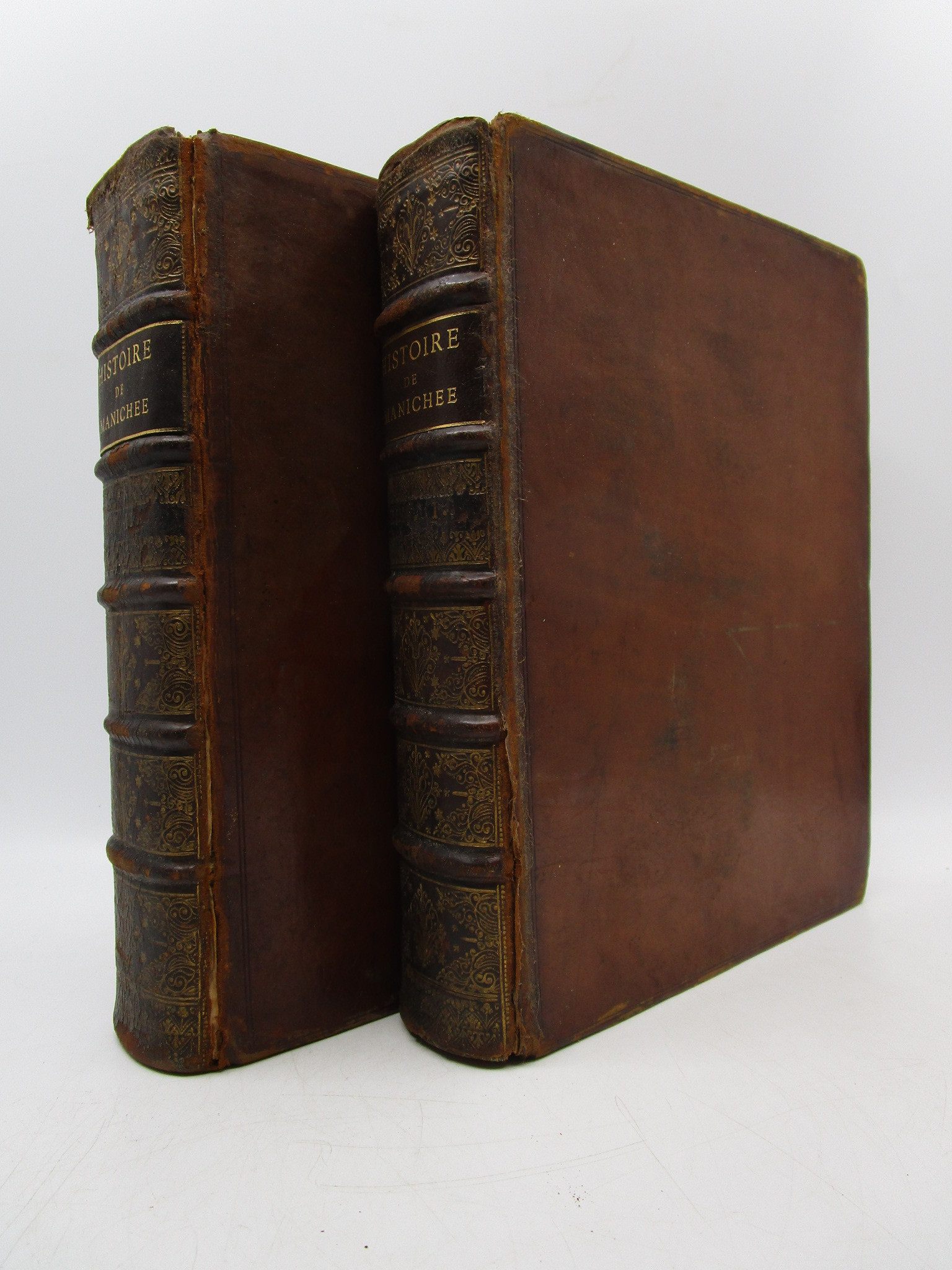 Image for Histoire de Manichee et du Manicheisme (Complete 2 Volume Set) First Edition