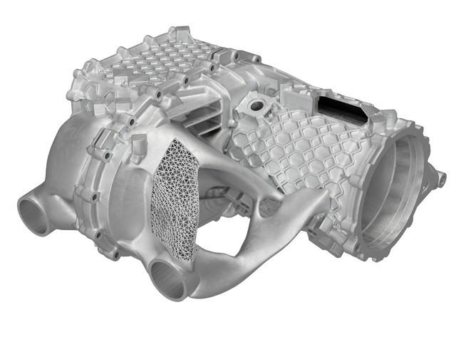 Prototype pour petites séries: boîtier E-drive de l'imprimante 3D S20-5722-fine
