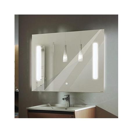 """Зеркало """"Жасмин 75""""светодиодная лента, сенсор750*650"""