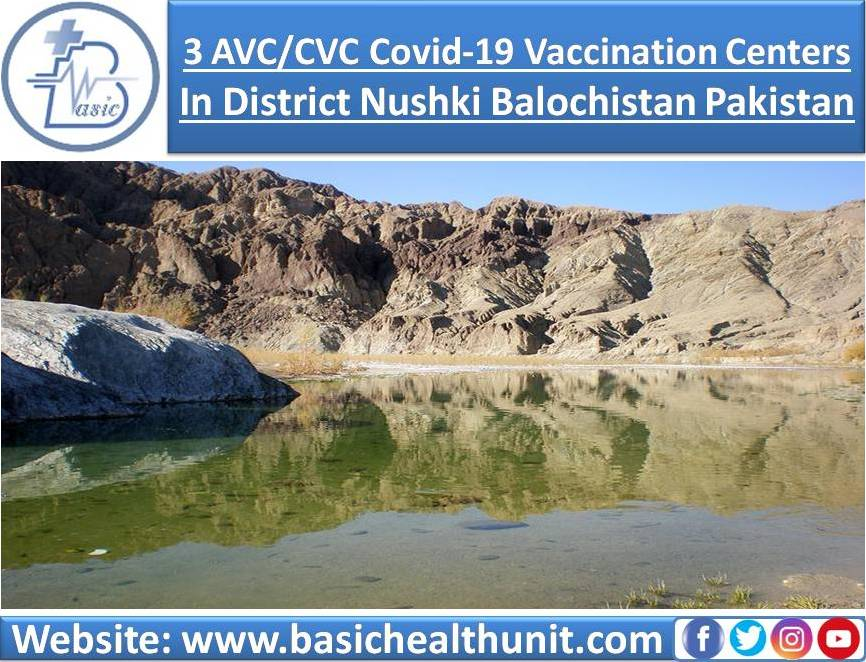 3 AVC/CVC Covid-19 Vaccination Centers In District Nushki Balochistan Pakistan