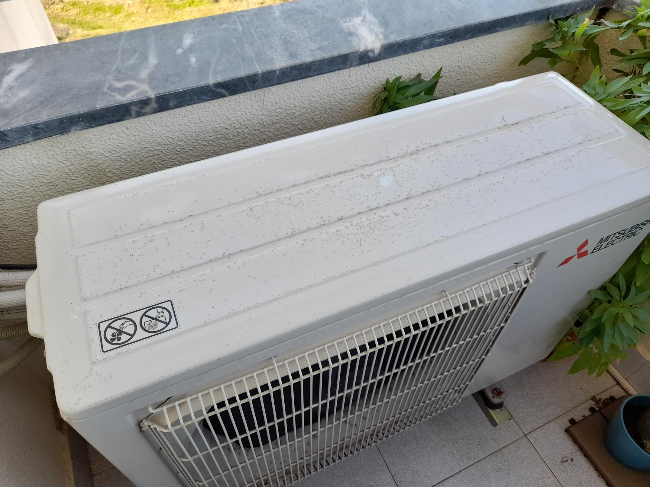 ferrugem ar condicionado