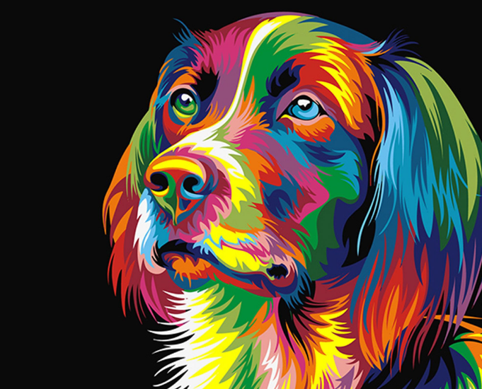 Things To Consider While Selecting Paint By Numbers Dogs For Painting A Pet Portrait