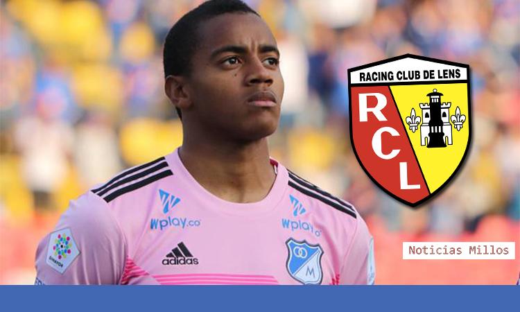 RC Lens confirmó a Wuilker Faríñez como su nuevo arquero