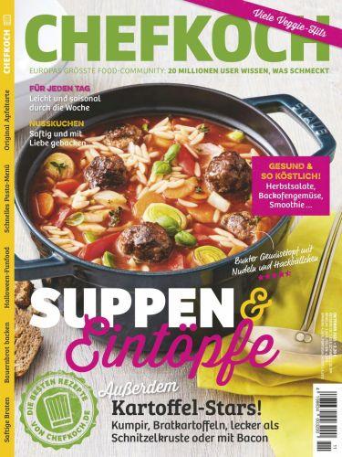 Cover: Chefkoch Magazin No 11 2021