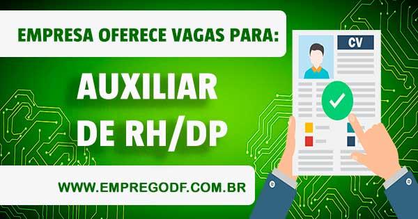 EMPREGO PARA AUXILIAR DE RH