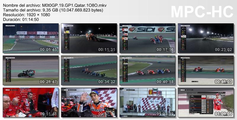 M0t0 GP 1 O - MotoGP - Temporada 2019 [MicroHD 1080p] [Castellano] [1/19] [VS]