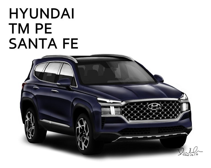 Hyundai Santa Fe Restyling (2020) 5