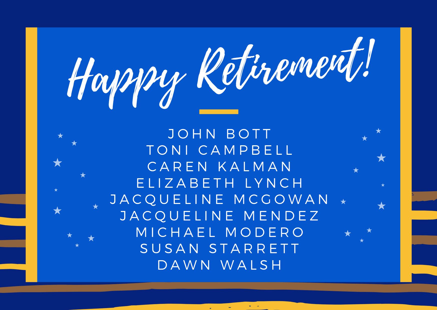 NBFT Retirees (2020)