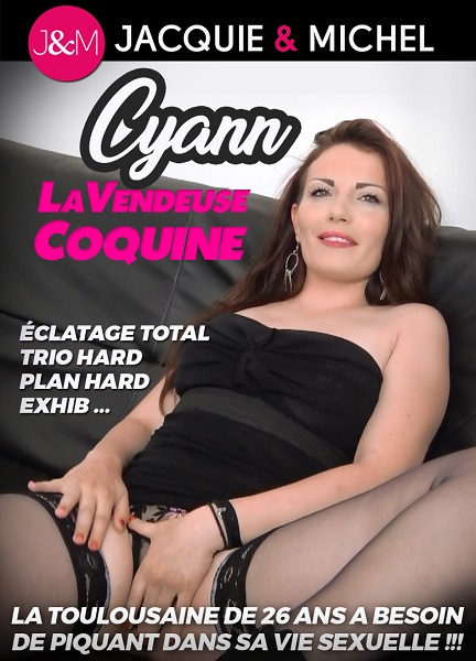 Cyann la vendeuse coquine / Cyann непослушная девка (Gercot, J&M) [2018 г., Gonzo, Anal, Group Sex, Toys, Lingerie, Outdoor, WEBRip 540p]