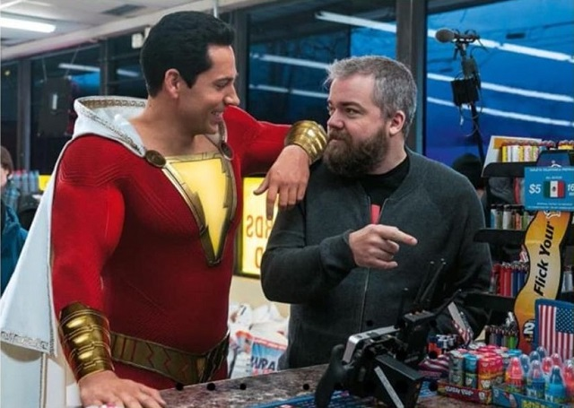 Shazam Stills Put The Spotlight On The Marvel Family A Suited Up