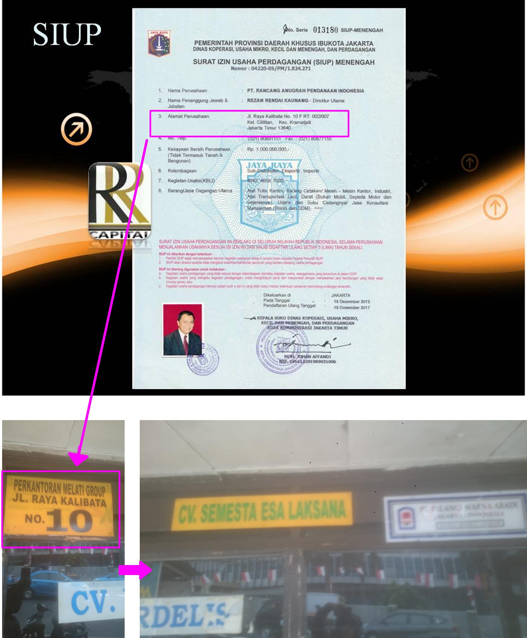 Kasus Penipuan RR Capital Rezan Kaunang Herru Dhanu Indarta 2